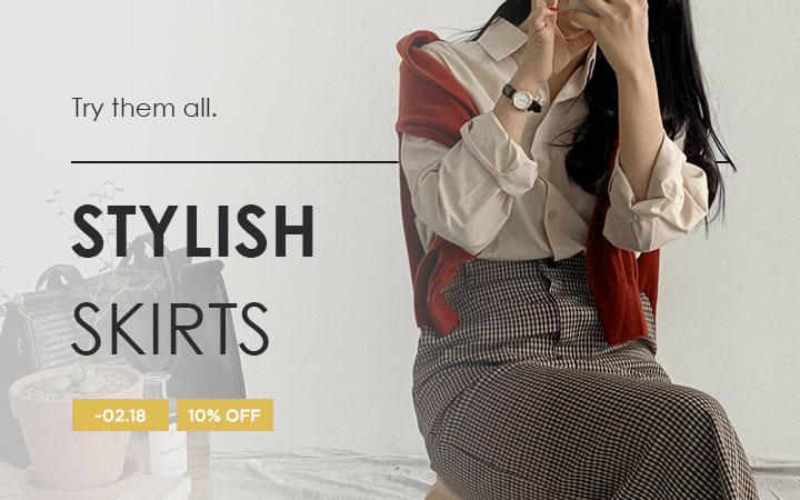 Try them all - Stylish Skirts