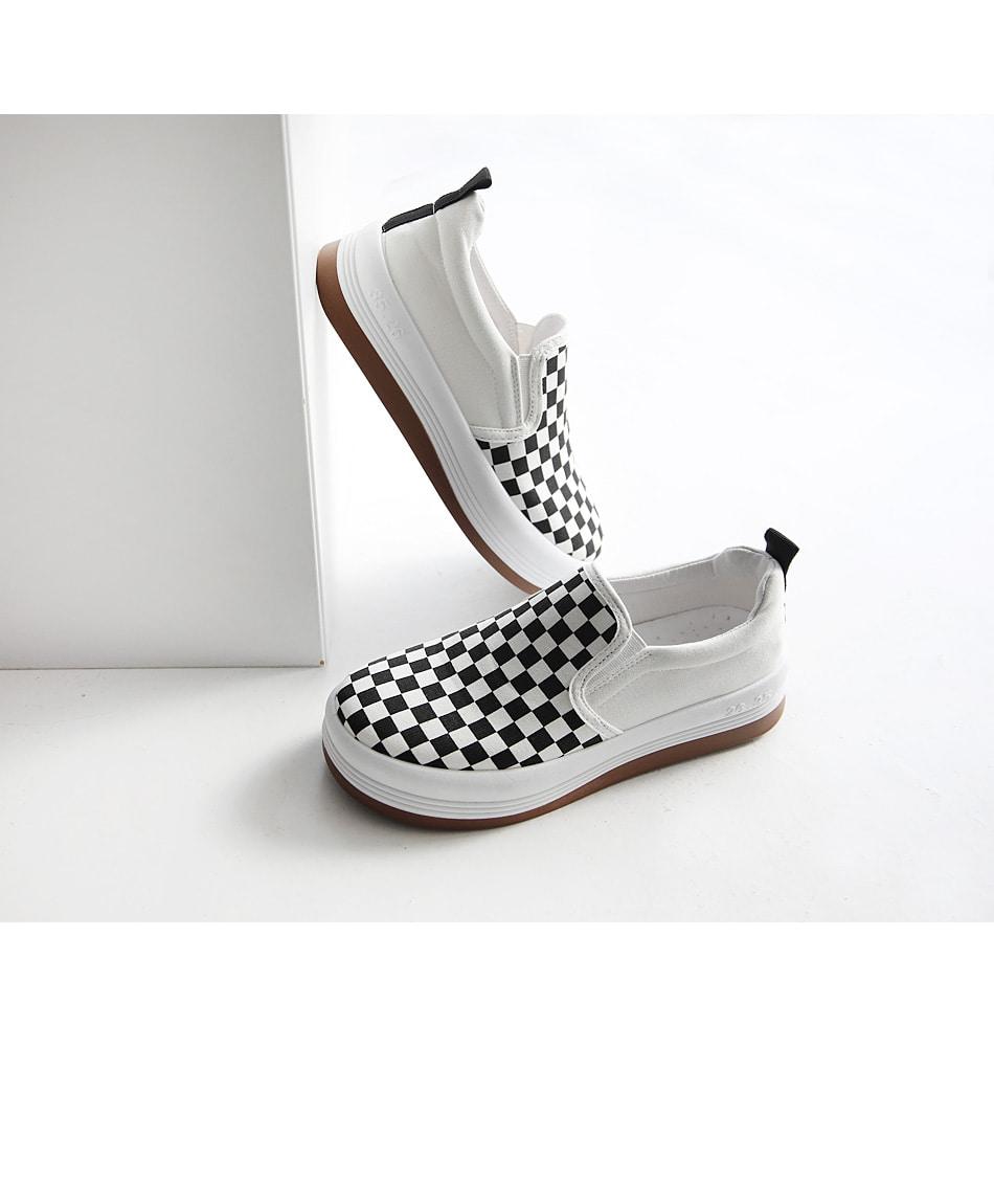 Egve full heel slip-on 4cm