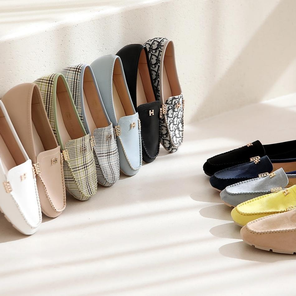 Color Fondant Height Loafers 2cm