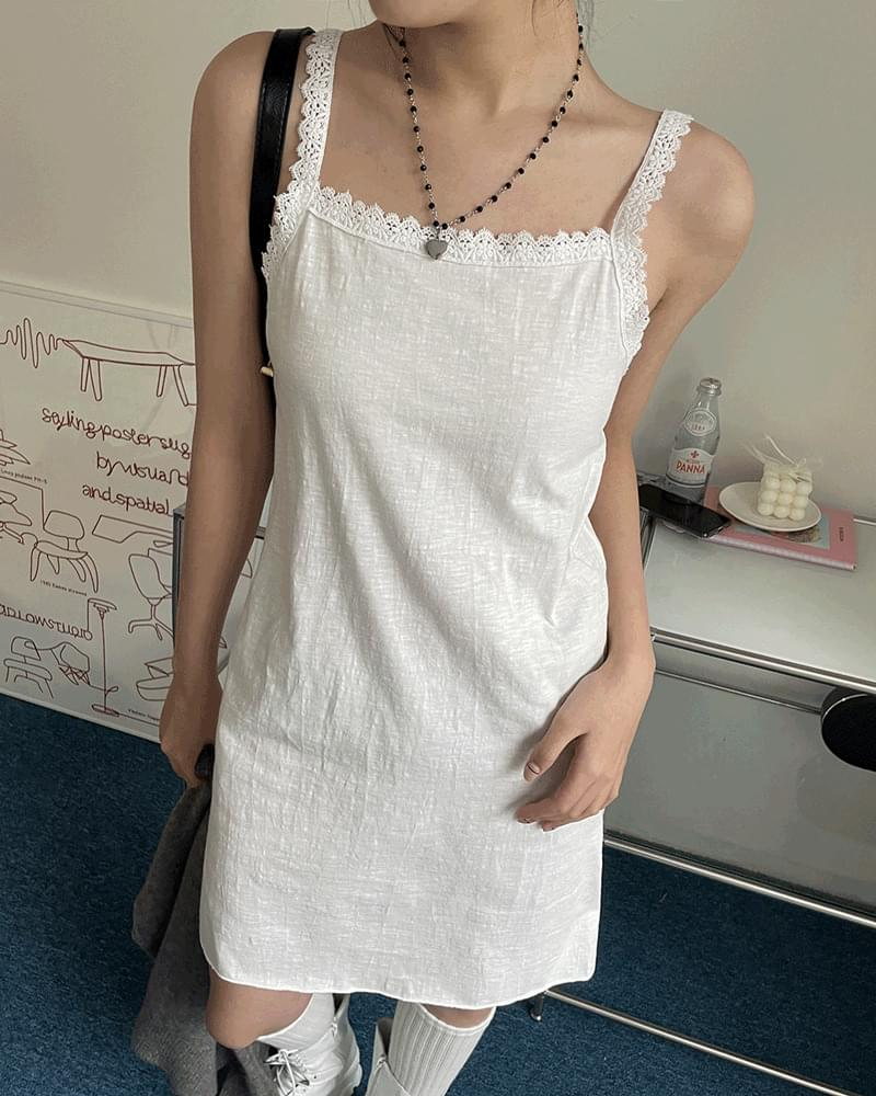 Cooper Lace Mini Thong Sleeveless Dress