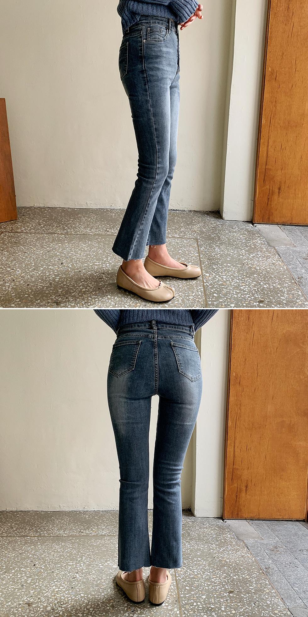 Wearing Denim Pants