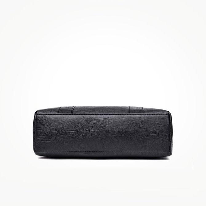 Gria Soft Plain Shoulder Leather Shoulder Bag