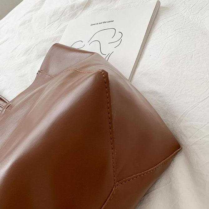 Maer plain simple tote big bag
