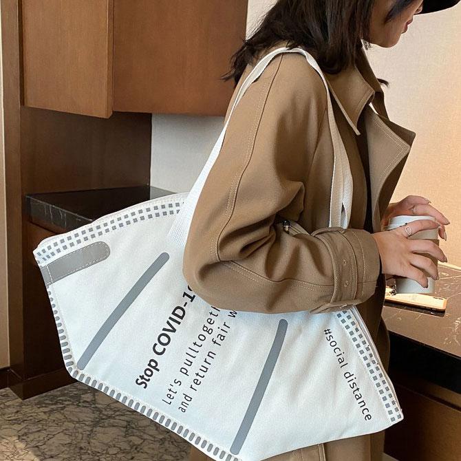 Song Fan Shape Fashion Design Shoulder Bag