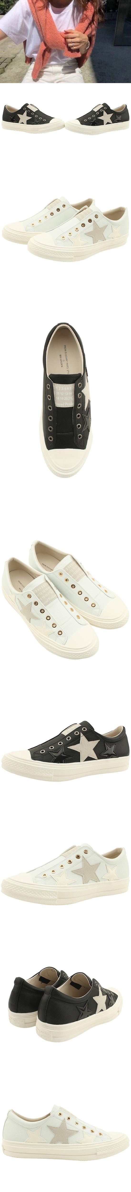 Cowhide Canvas Shoes Low Sneakers Black
