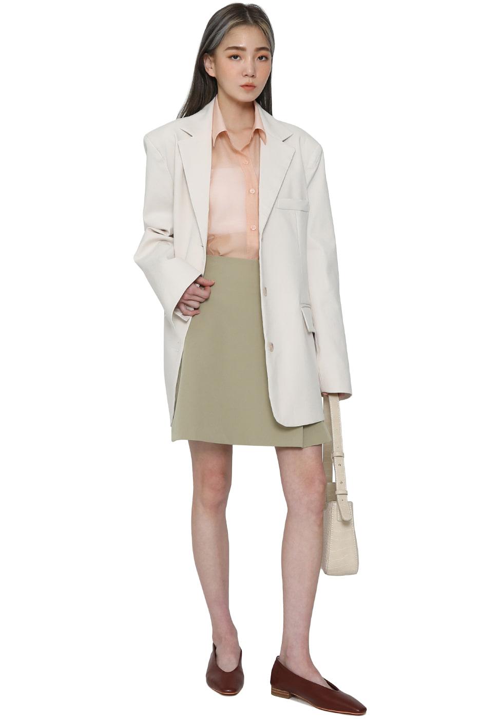 Mate pleated mini skirt
