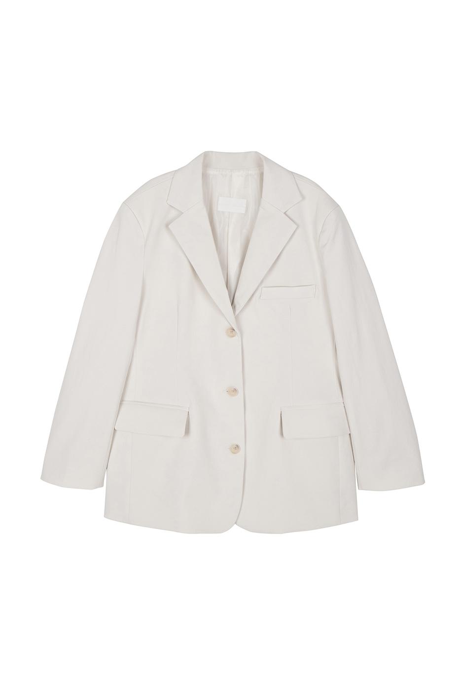Loppy cotton blazer