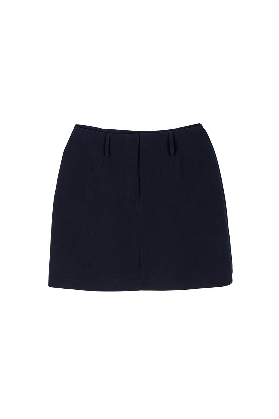 Letter mini skirt