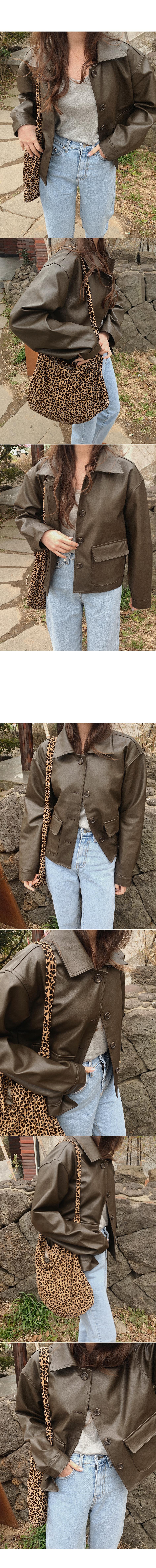 Aeld leather jacket