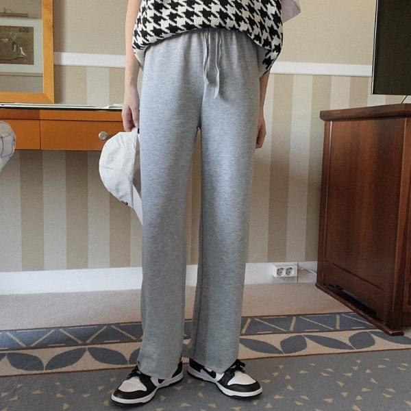 Renique wide banding pants
