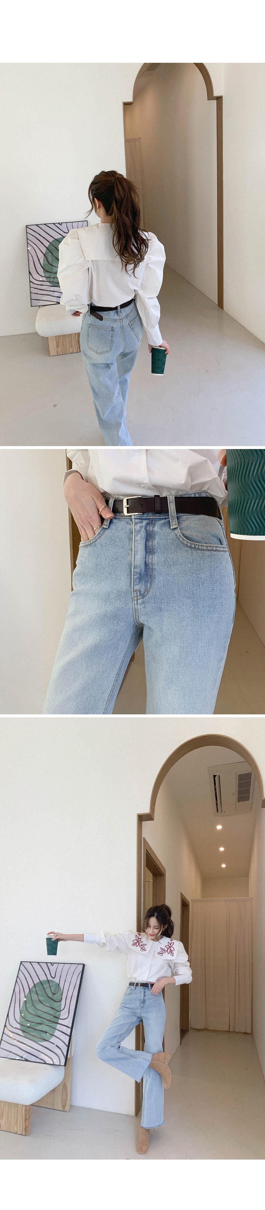 Standard one buckle belt