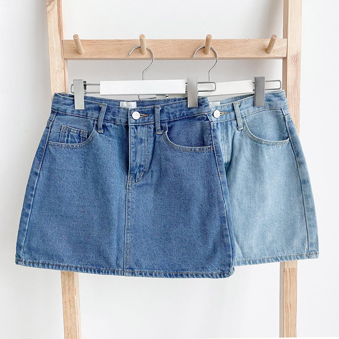 ESSAYMini Denim Skirt