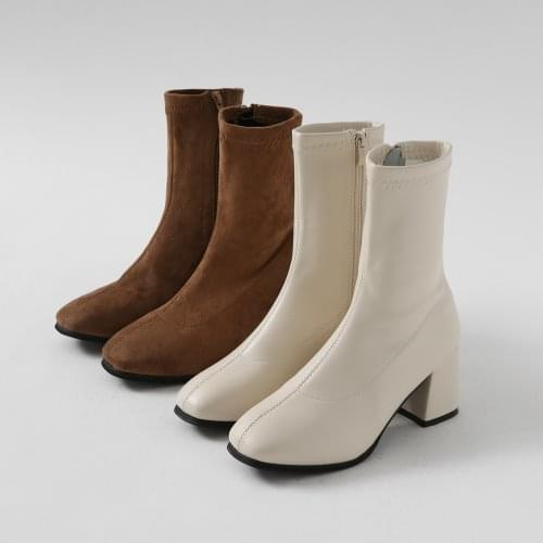 Demanche middle heel ankle Socks boots