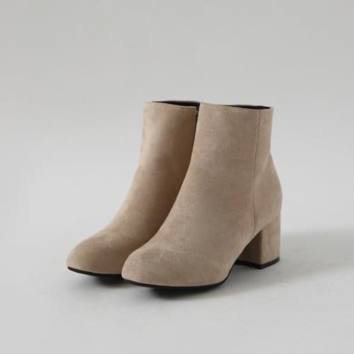 Shamad Middle Heel Ankle Boots BSSDR4b91050