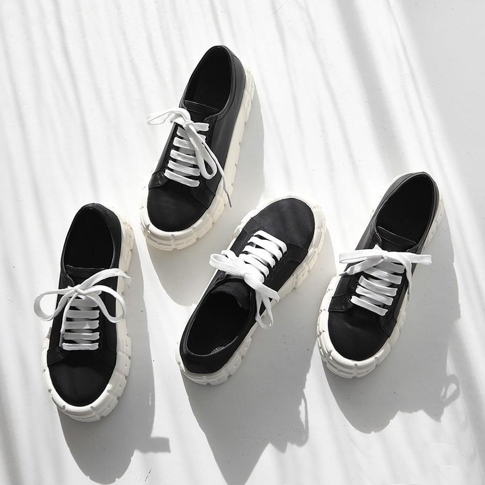 Fried full-heeled sneakers 4cm