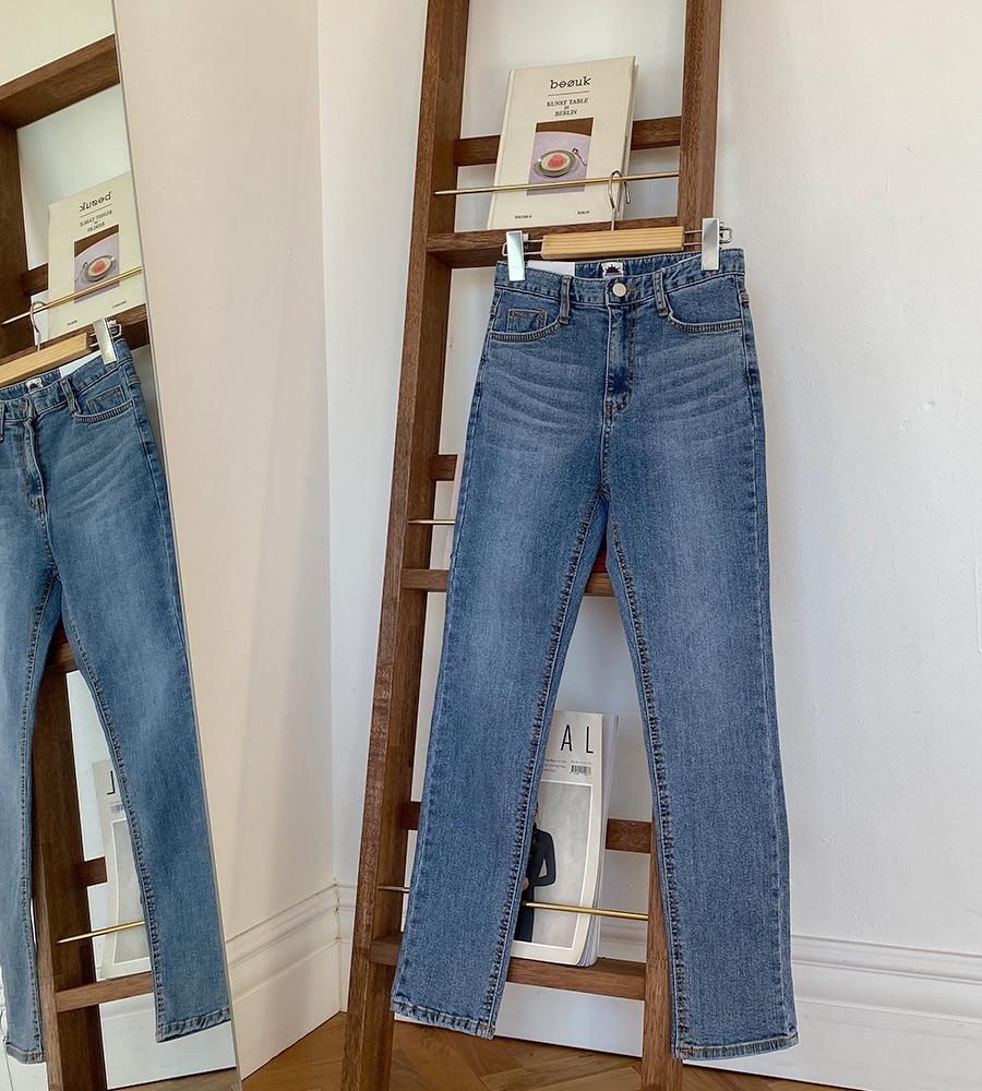 Gracie Slim Straight Pants-one color