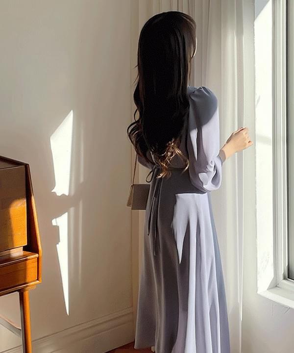 Viola Pintuck Long Dress 4color