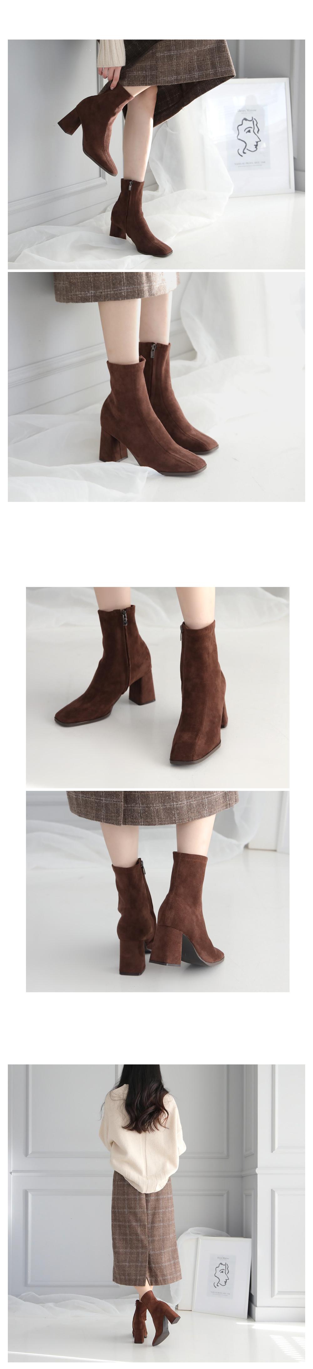 Gevens Sachs Ankle Boots 7.5cm