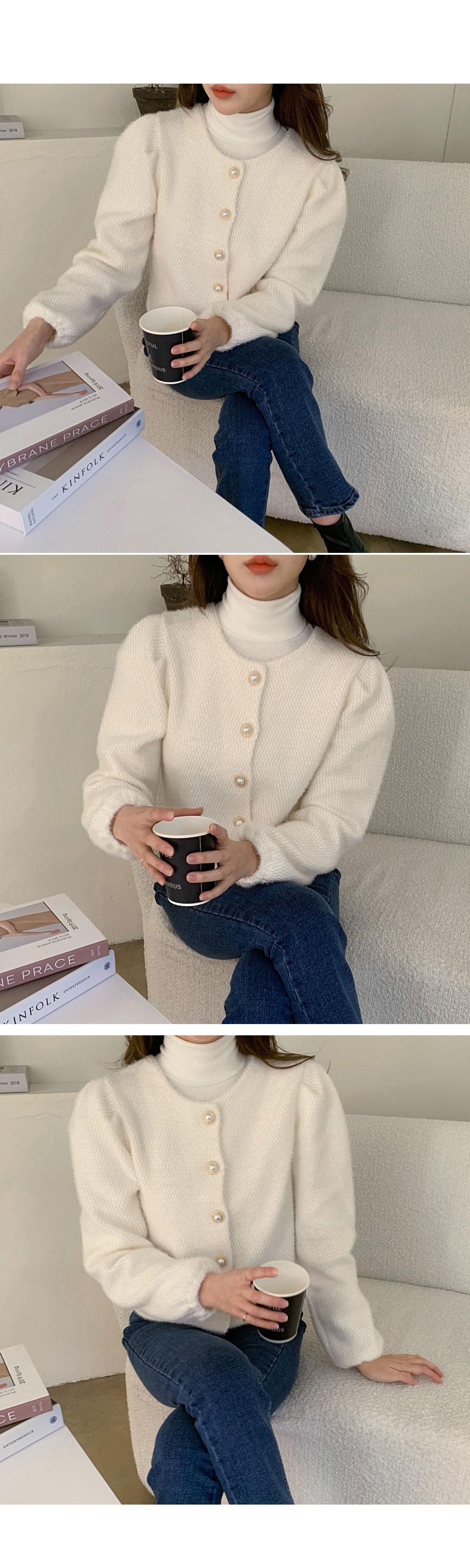 Lihwa Pearl Cardigan