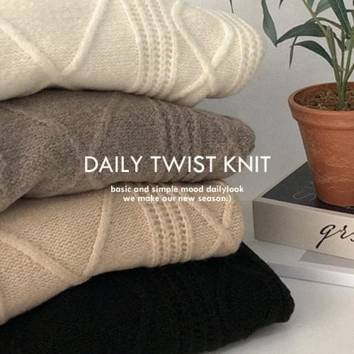 Belmona Twisted Knitwear