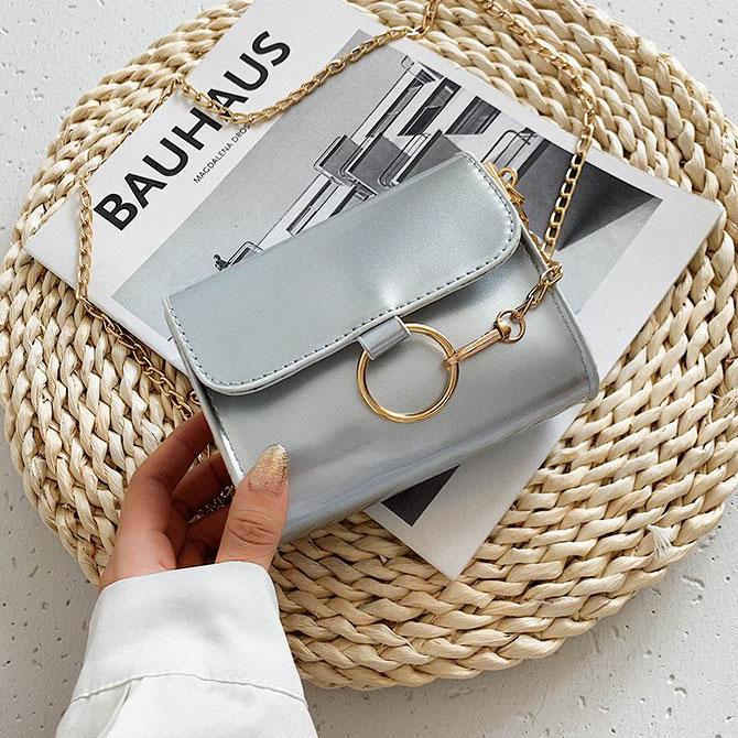 Ranin Soft Mini Chain Cross Shoulder Bag