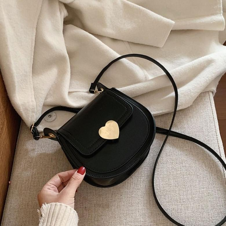 Heart Modern Lock Fashion Mini Crossbody Bag