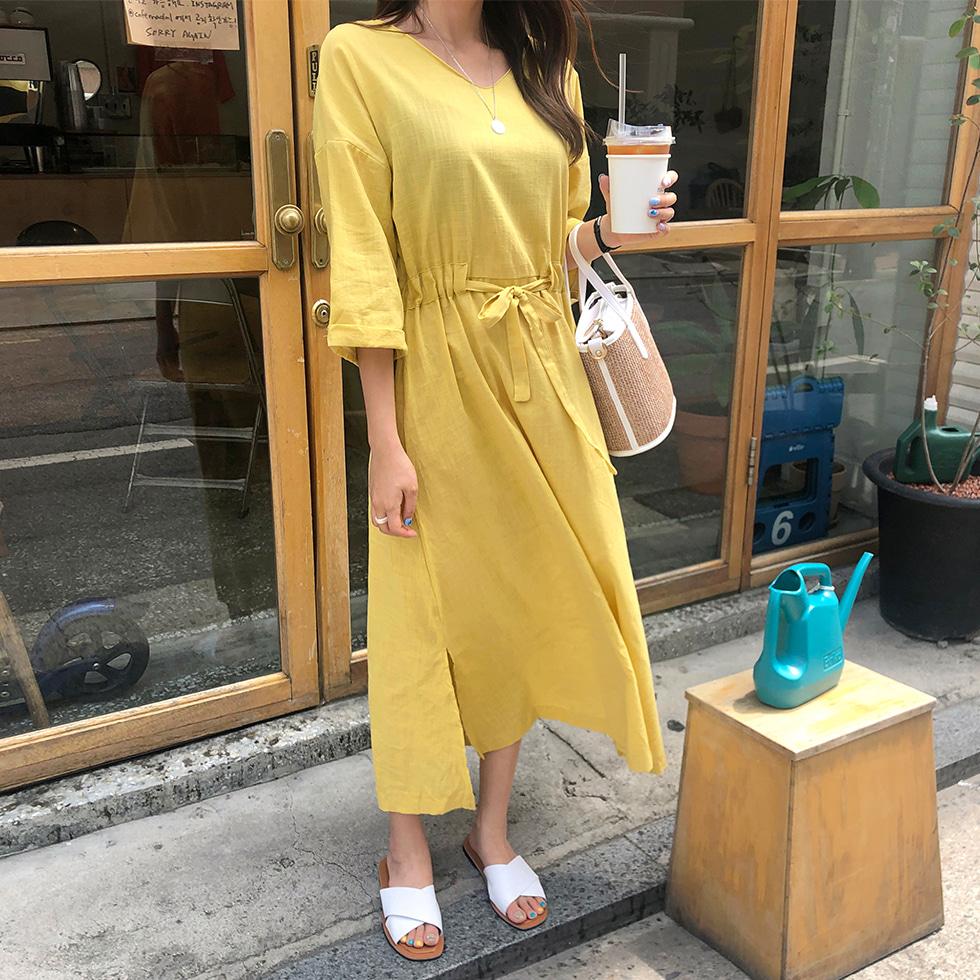 String Long Jane Dress