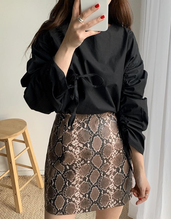 韓國空運 - Shearing String Blouse 襯衫