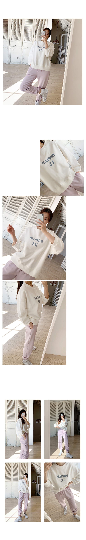 Maison lettering Sweatshirt