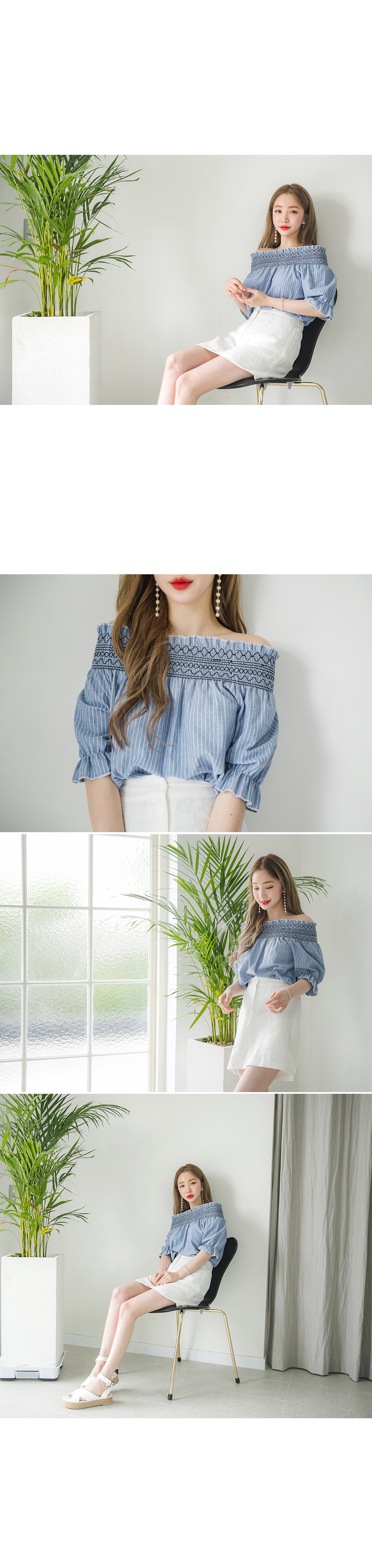 Taming off blouse