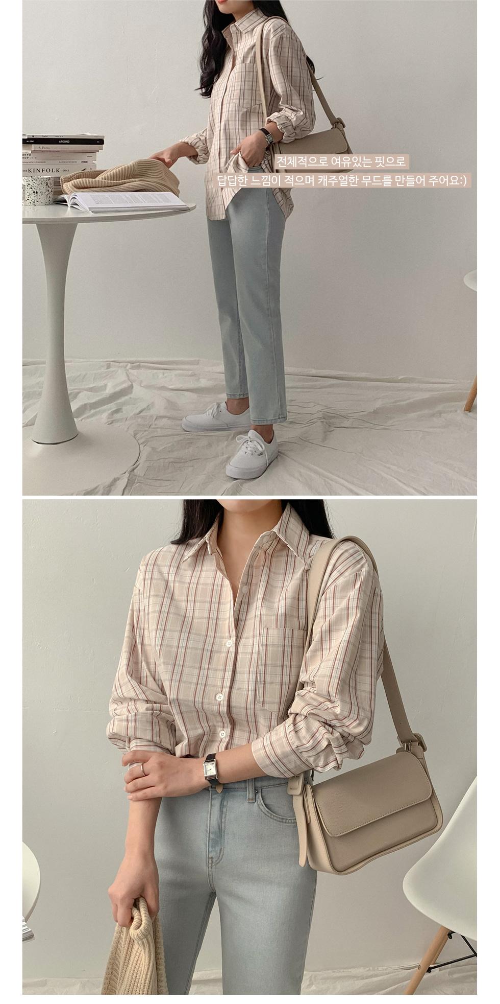Mo Knitwear Check Shirt