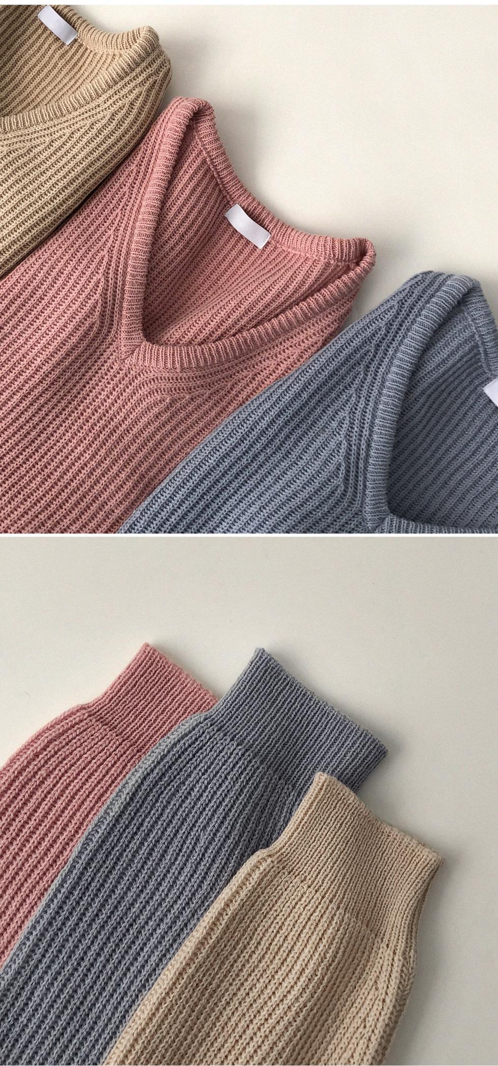 Reel Spring V Wool Knitwear