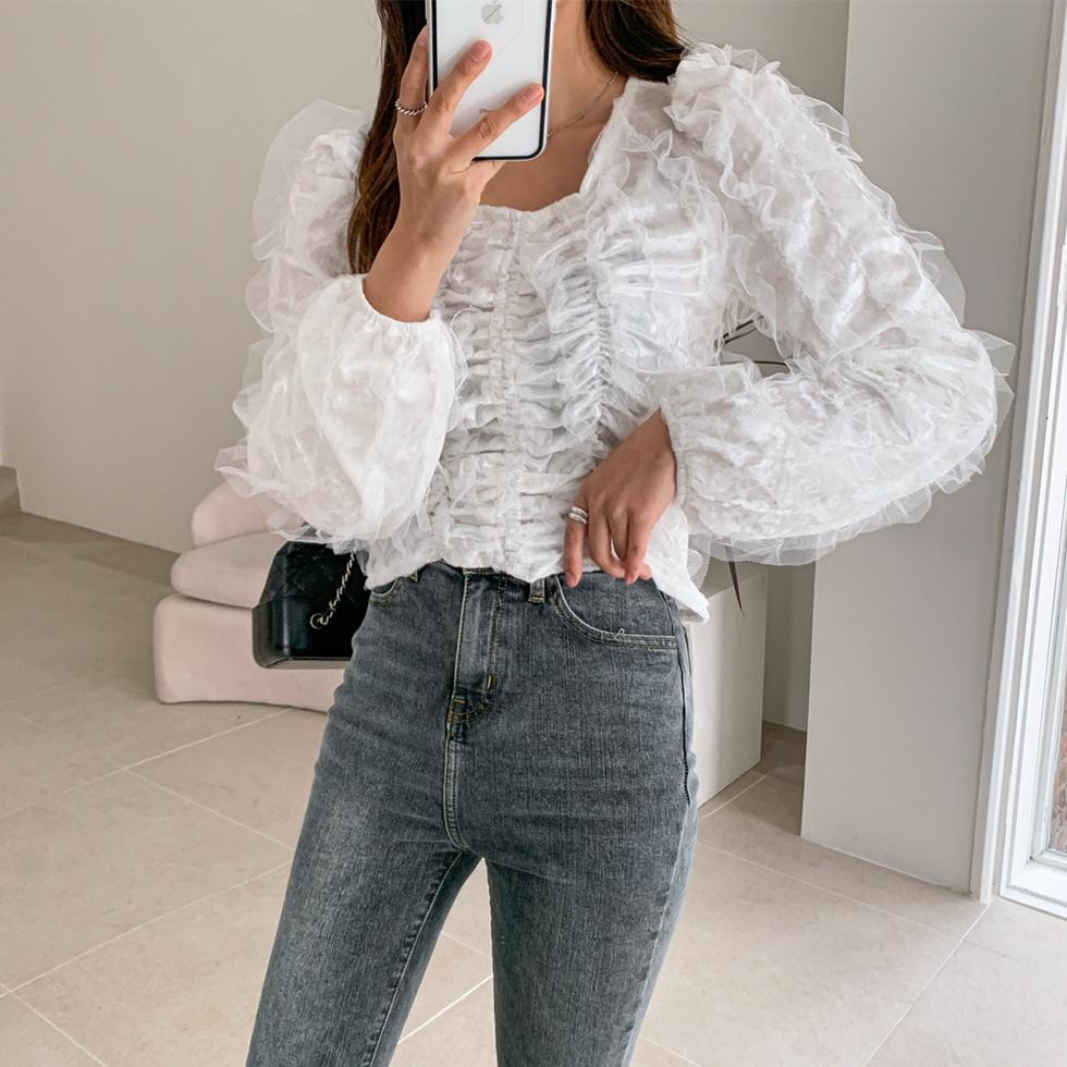Butter Fleece-lined denim pants