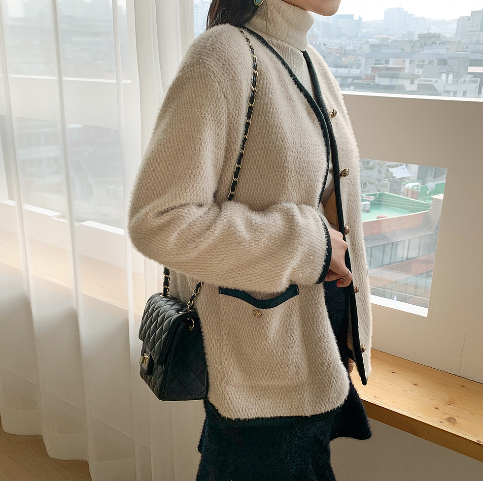 Midivine wool quilted jacket