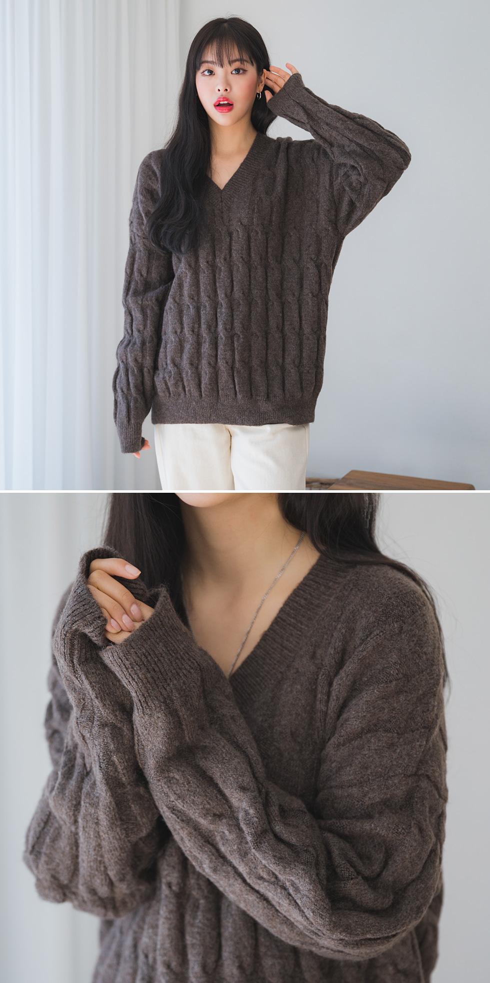 Dark Chocolate Knitwear
