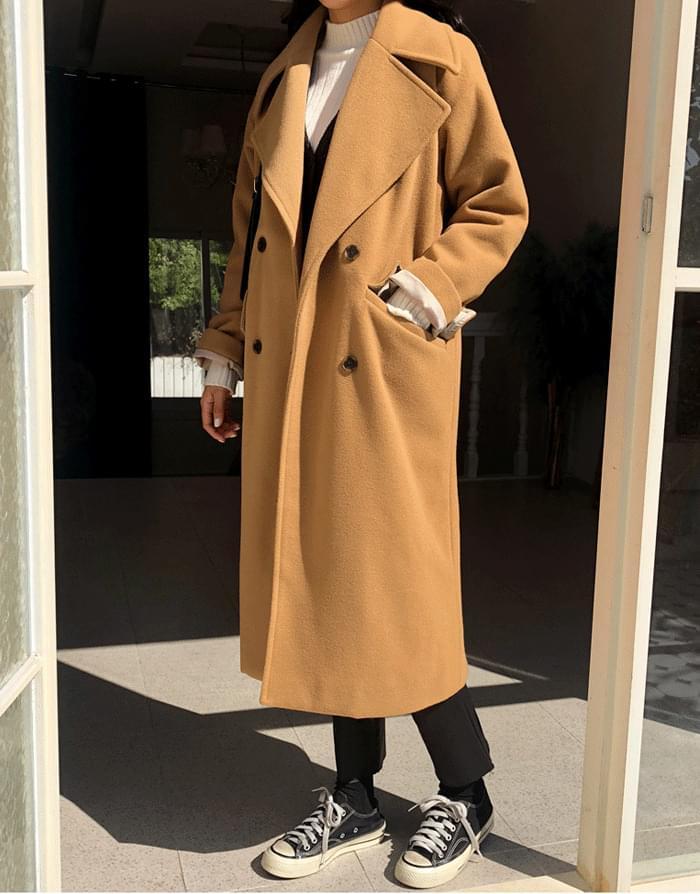 韓國空運 - Tokyo Kara Long Coat 大衣外套