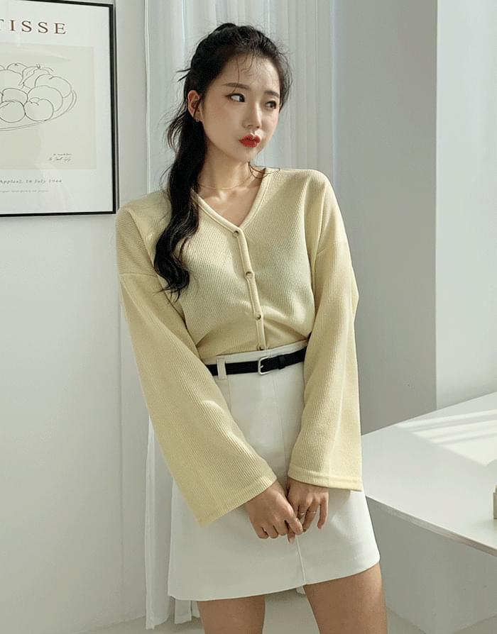 韓國空運 - Rondi ring cardigan 針織外套