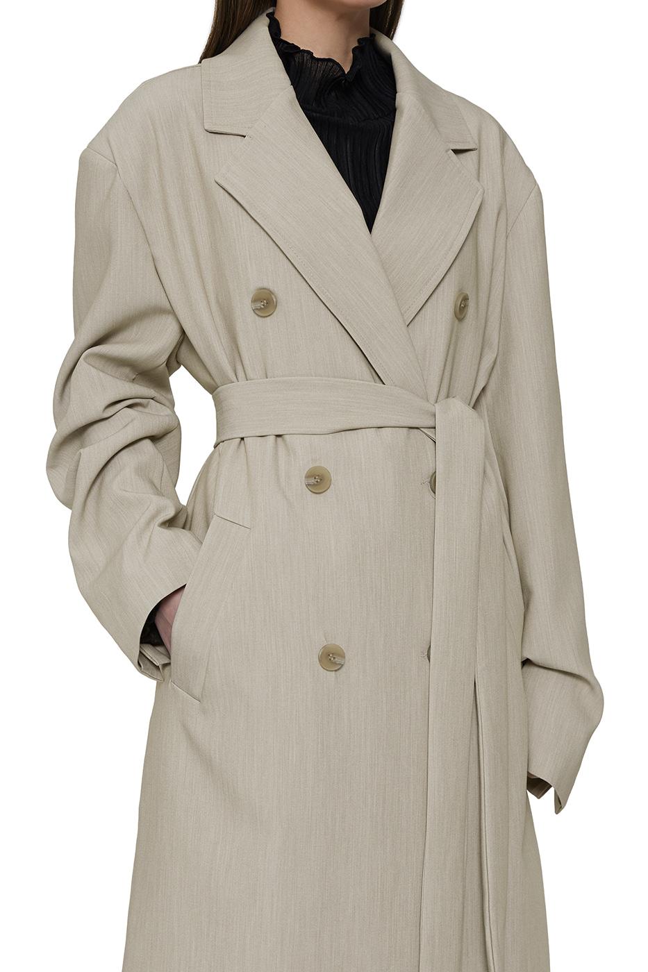 Manish oversized double long coat