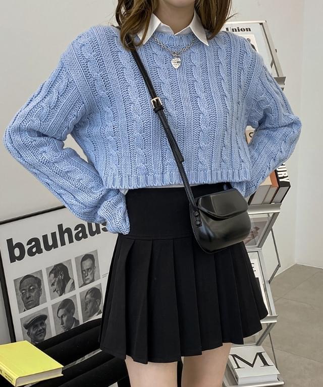 Rayburn Twisted Crop Knitwear