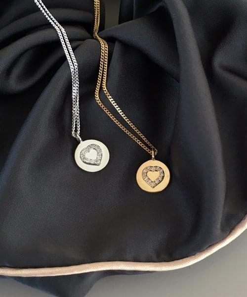 twinkle heart necklace