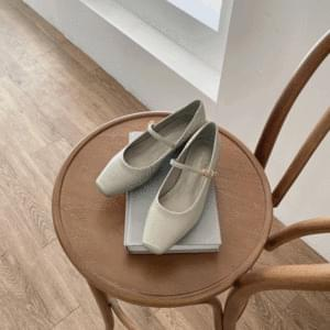 Daily Mary Jane Flat Shoes 2cm
