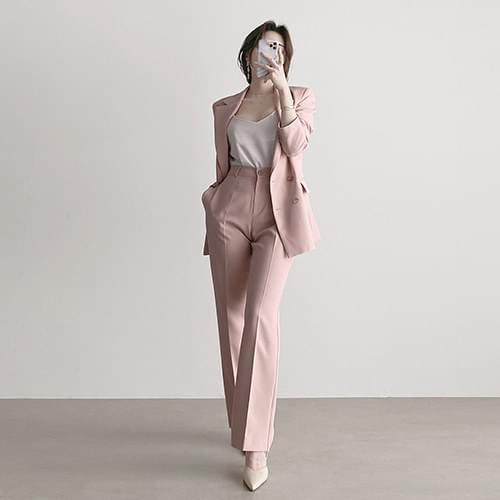 Gorgeous Daily Pastel Basic Tailored Jacket 3color