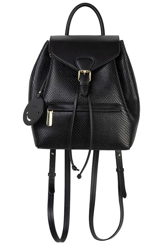 Marie animal pattern backpack
