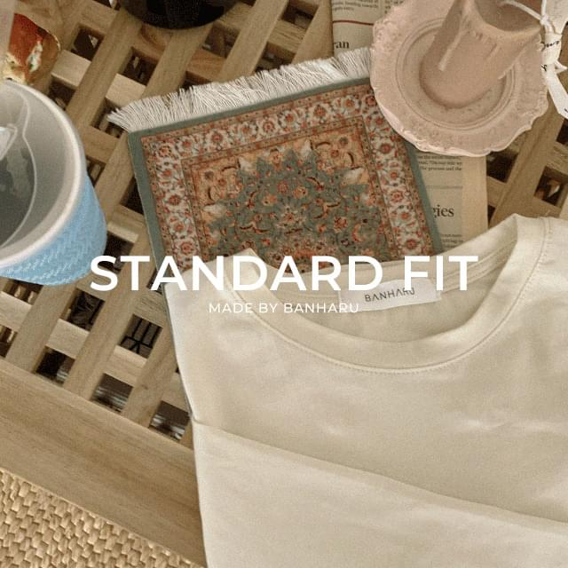 Basic Fit Side Split Cotton Tea
