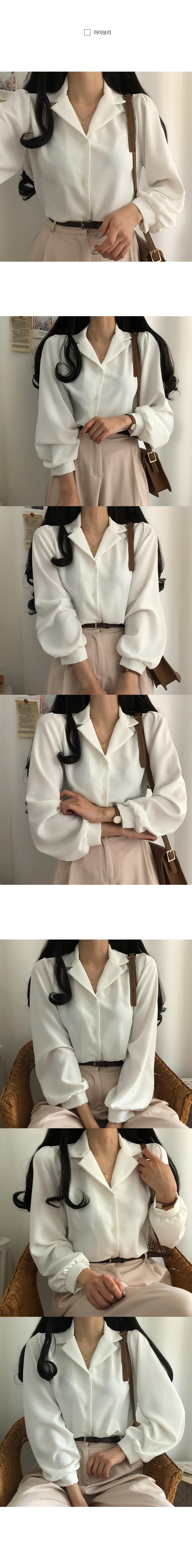Paris soft touch collar blouse
