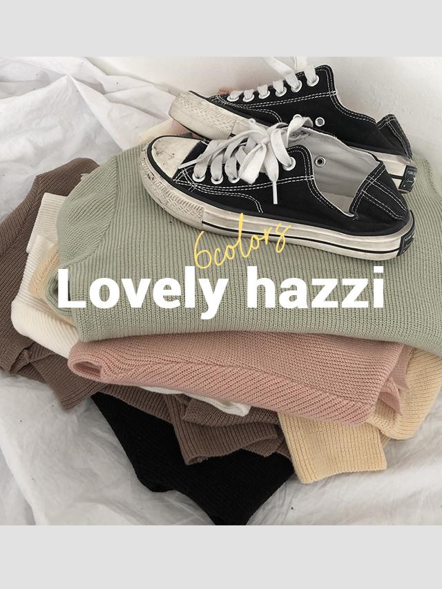 Sweet Hatchi V-Neck Knitwear