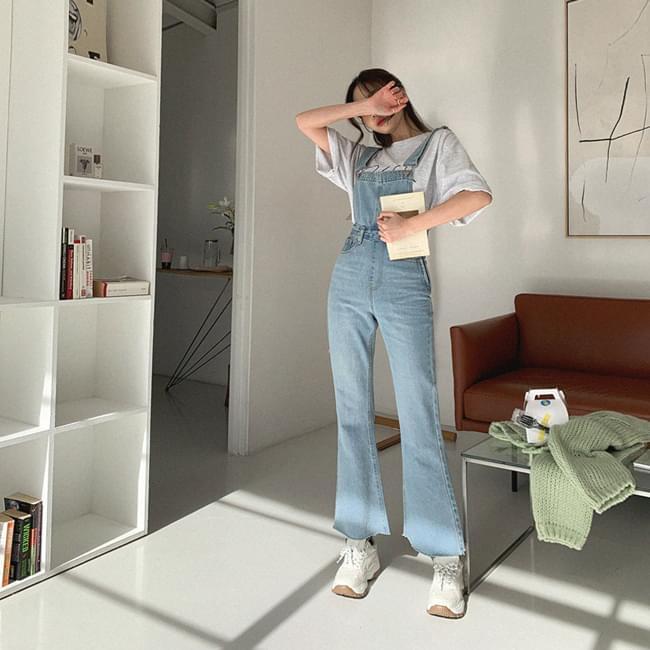 Dreamed Fit Suspenders Pants