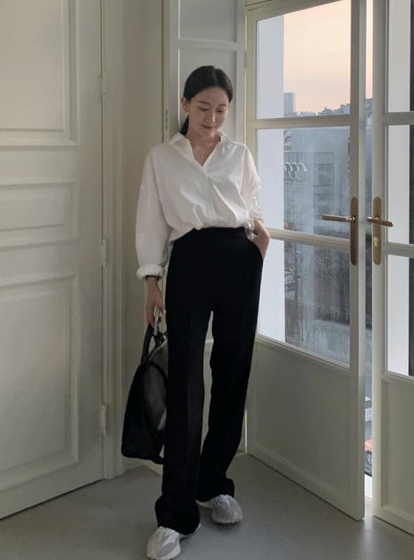 Roton Flared pants / black