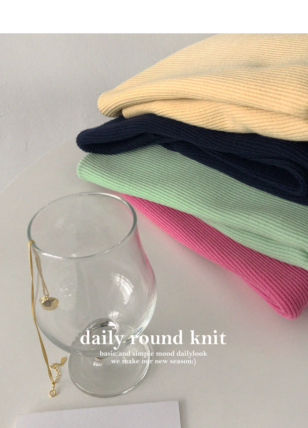 Bones Spring Round Knitwear