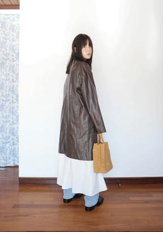 vintage crack coat